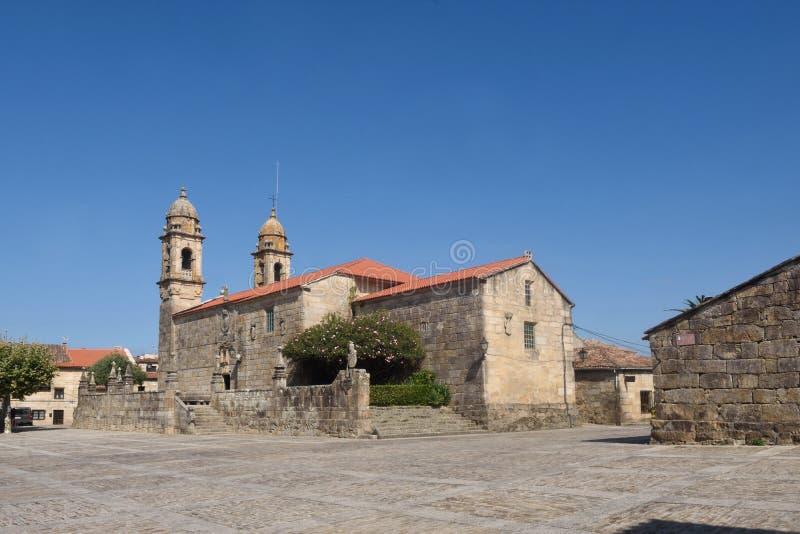 Iglesia de San Benito, cuadrado de Fefinans foto de archivo libre de regalías