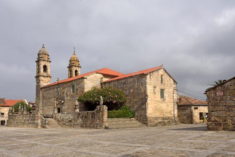 Iglesia de San Benito, cuadrado de Fefinans, fotografía de archivo libre de regalías
