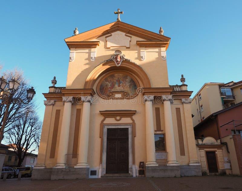 Iglesia de San Cassiano en Grugliasco fotografía de archivo libre de regalías