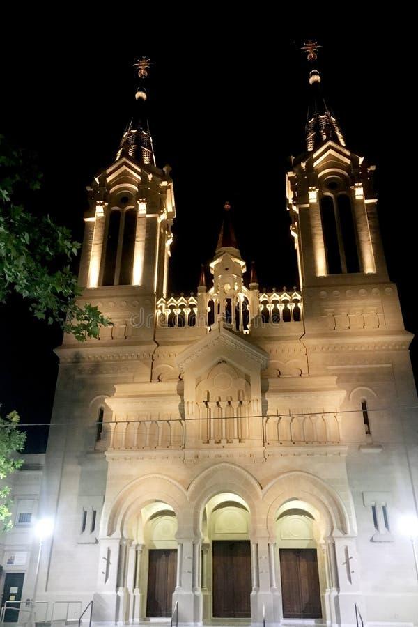 Iglesia de San Fernando en Buenos Aires imagen de archivo libre de regalías