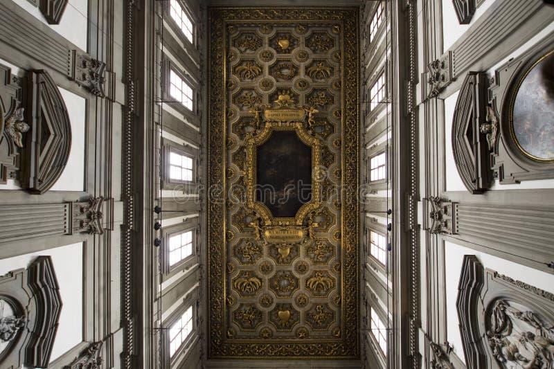 Iglesia de San Firenze en Florencia foto de archivo libre de regalías