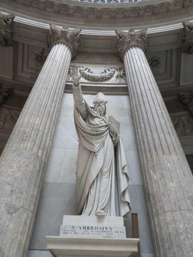 Iglesia de San Francisco di Paola Nápoles Italia imágenes de archivo libres de regalías