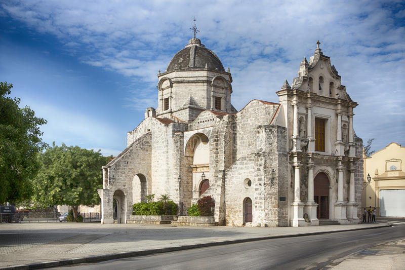 Iglesia de San Francisco Paula, Havanna immagine stock libera da diritti
