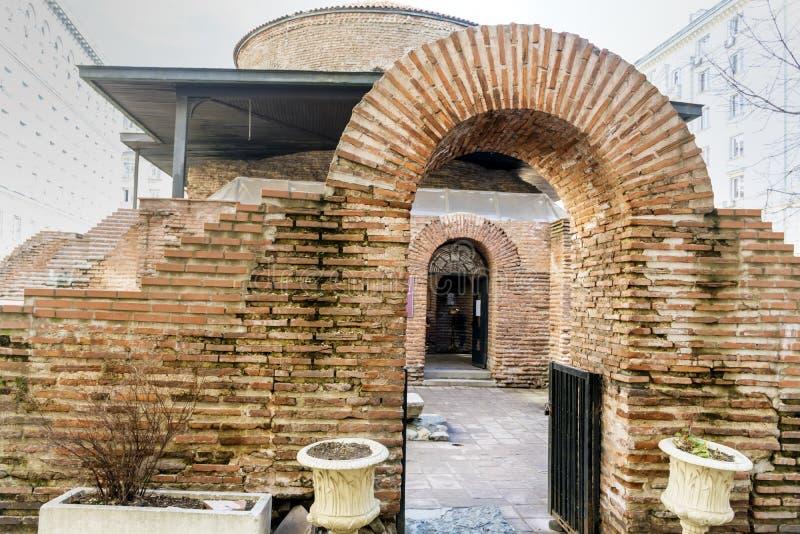 Iglesia de San Jorge en Sofía, Bulgaria rotunda imagenes de archivo