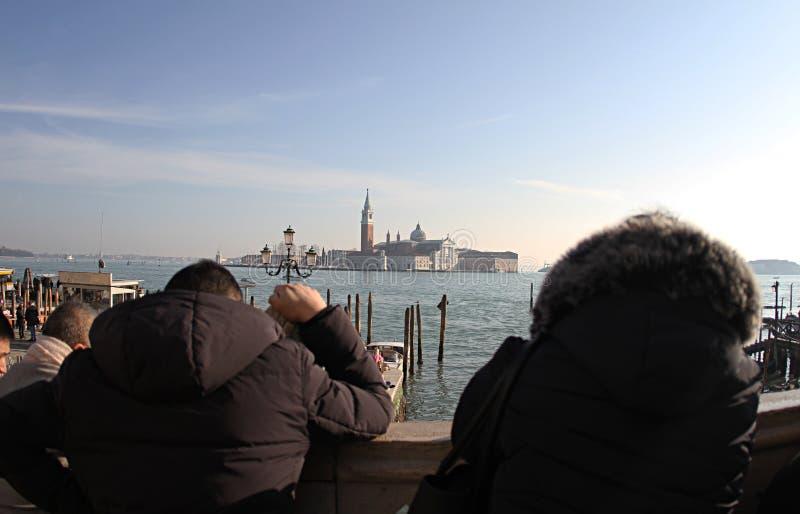 Iglesia de San Jorge Maggiore Venecia Italia 2019 foto de archivo libre de regalías
