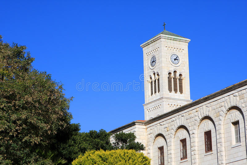 Iglesia de San José, Nazareth fotos de archivo