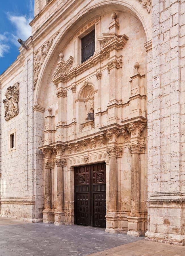 Iglesia de San Lorenzo el som är verkligt i Burgos, Spanien arkivfoto