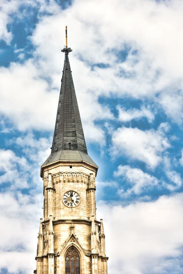 Iglesia de San Miguel fotografía de archivo