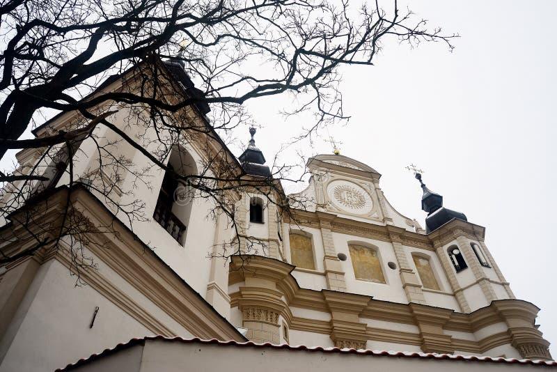 Iglesia de San Miguel el arcángel en Vilna fotografía de archivo libre de regalías