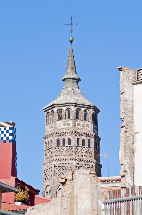 Iglesia de San Pablo en Zaragoza, España foto de archivo libre de regalías