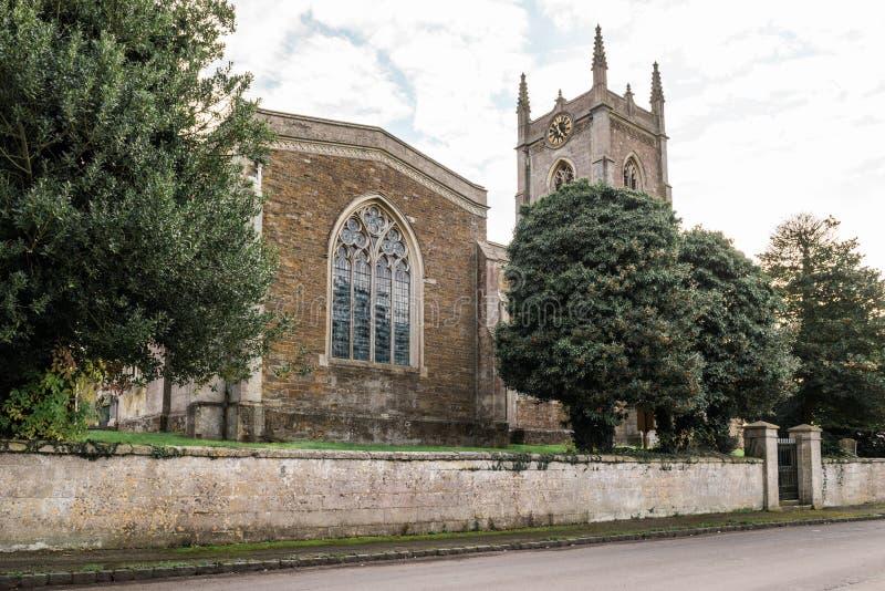 Iglesia de San Pedro, Carlton del este, Inglaterra fotos de archivo