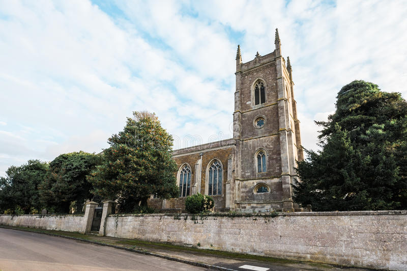 Iglesia de San Pedro, Carlton del este, Inglaterra imagen de archivo libre de regalías