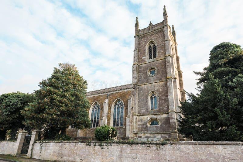 Iglesia de San Pedro, Carlton del este, Inglaterra foto de archivo