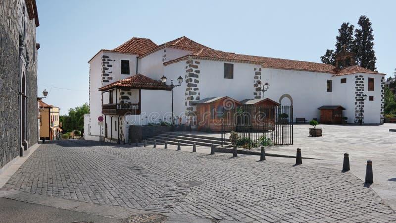 Iglesia De San Pedro in Vilaflor de Chasna, Teneriffa, Kanarische Inseln, Spanien stockfoto