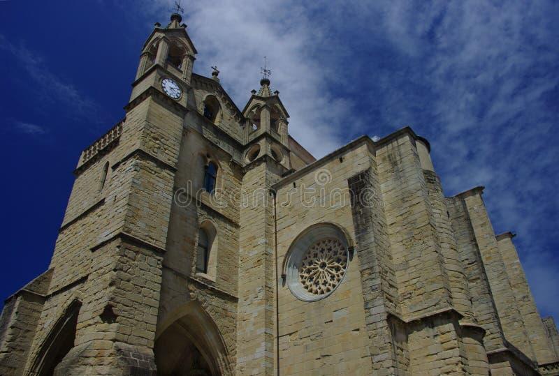 Iglesia de San Vicente foto de archivo