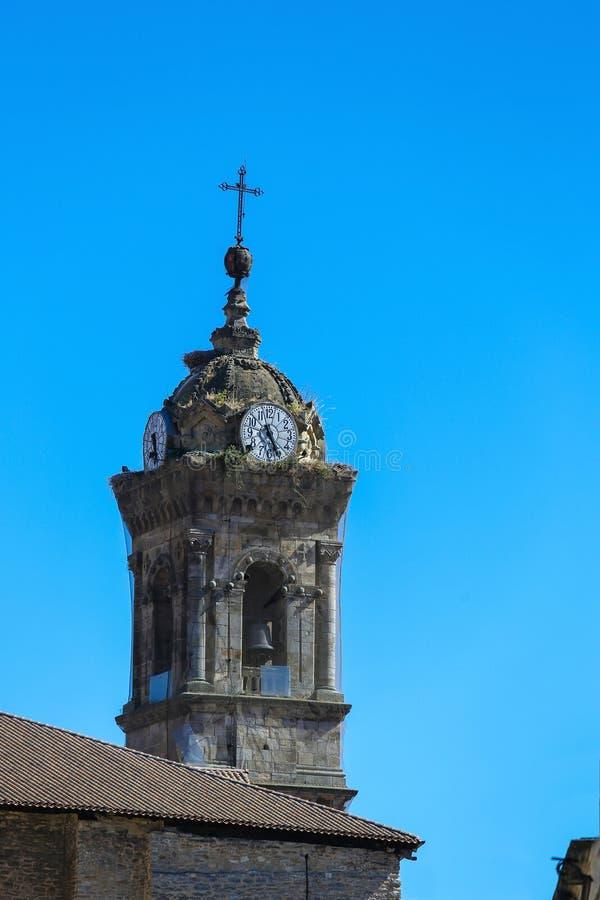 Iglesia de San Vicente Martir en Vitoria - Gasteiz foto de archivo libre de regalías