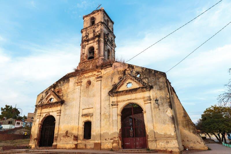 Iglesia de Santa Ana, Trinidad, Cuba fotografia stock