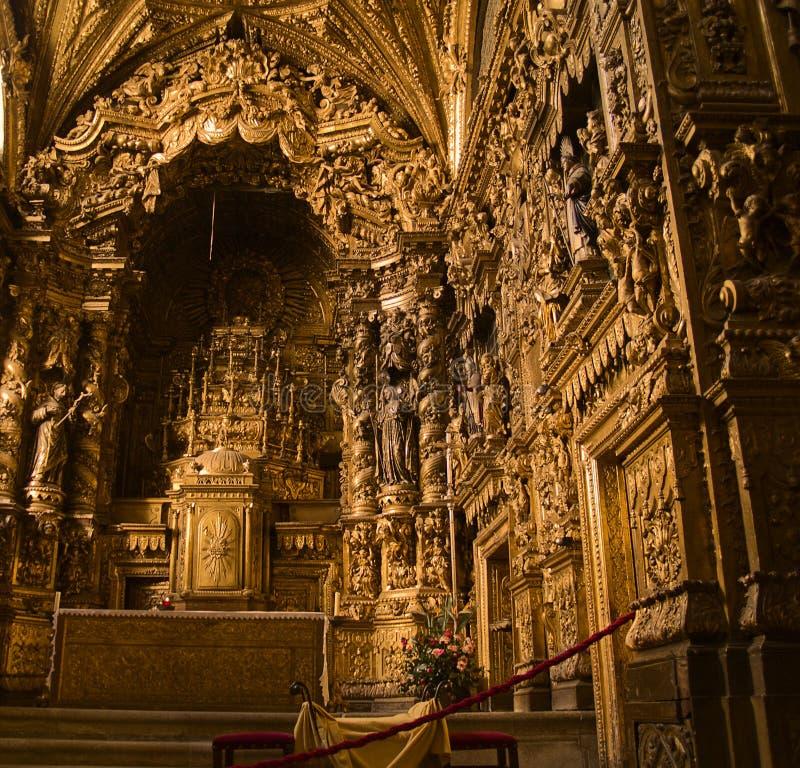 Iglesia de Santa Clara, Portugal imagenes de archivo