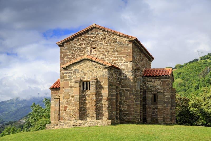 Iglesia de Santa Cristina de Lena Oviedo imagenes de archivo