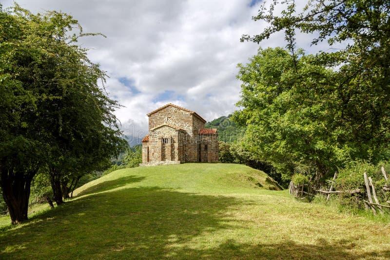 Iglesia de Santa Cristina de Lena Oviedo imágenes de archivo libres de regalías