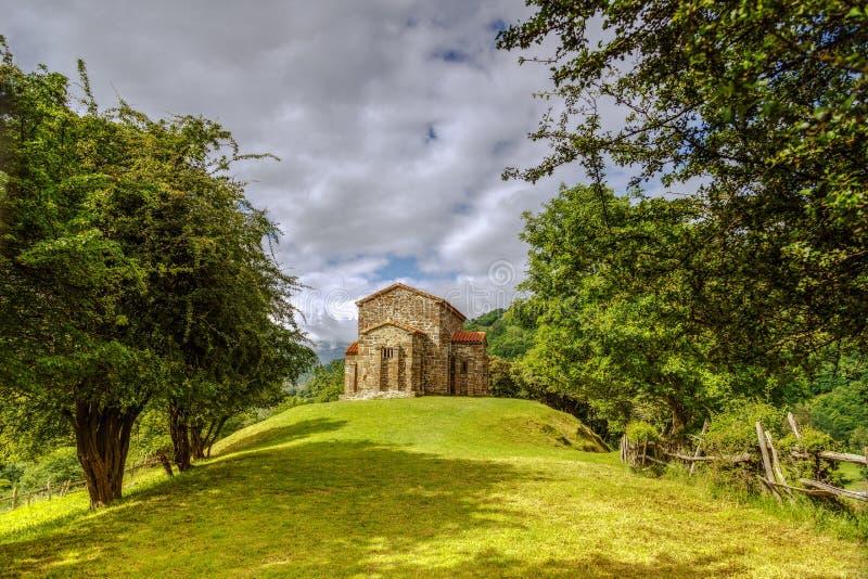 Iglesia de Santa Cristina de Lena Oviedo fotos de archivo