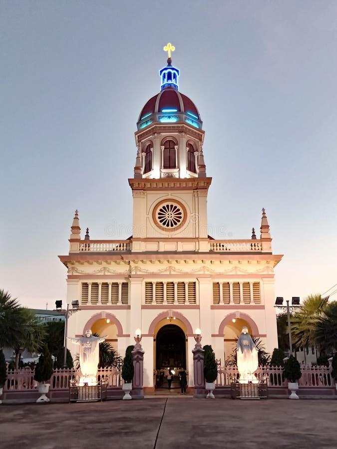 Iglesia de Santa Cruz foto de archivo libre de regalías