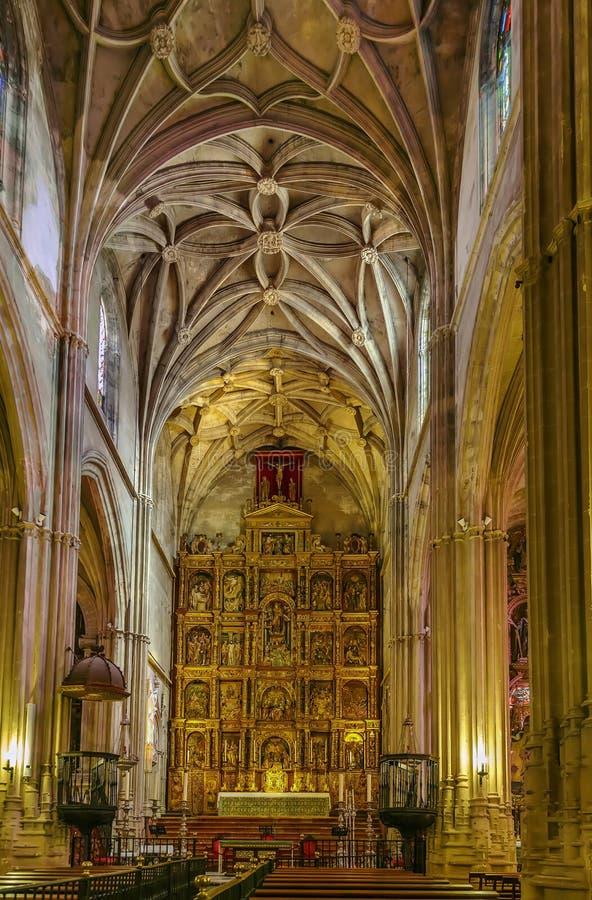 Iglesia de Santa Maria de la Asuncion, Carmona, España foto de archivo libre de regalías