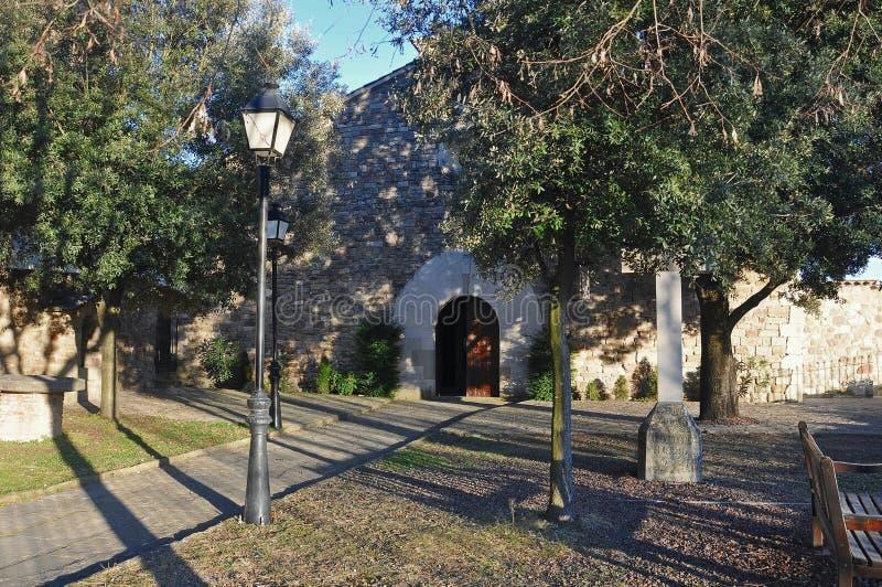 Iglesia de Santa Maria del Barri fotos de archivo