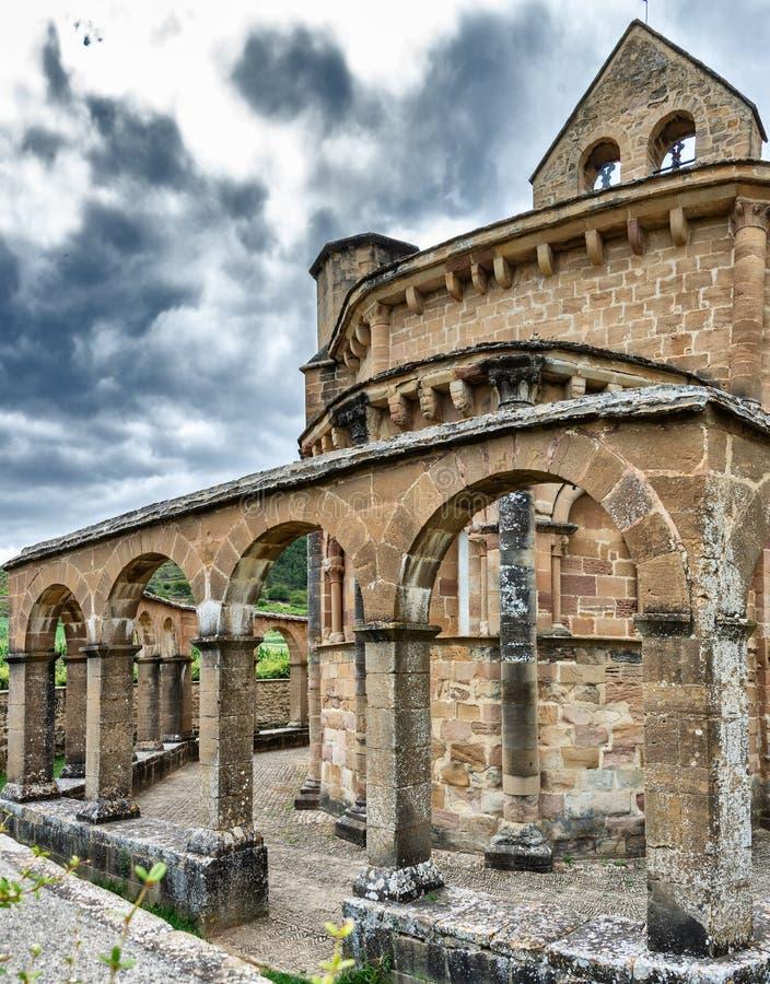 Iglesia de Santa Maria de Eunate fotografie stock