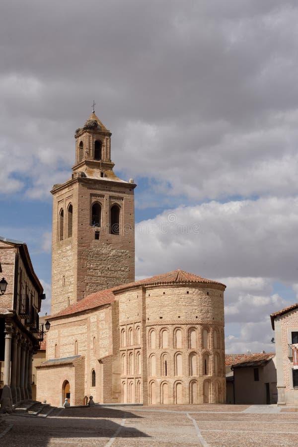 Iglesia de Santa Maria la Mayor, Arevalo, provincia de Ávila, fotografía de archivo libre de regalías