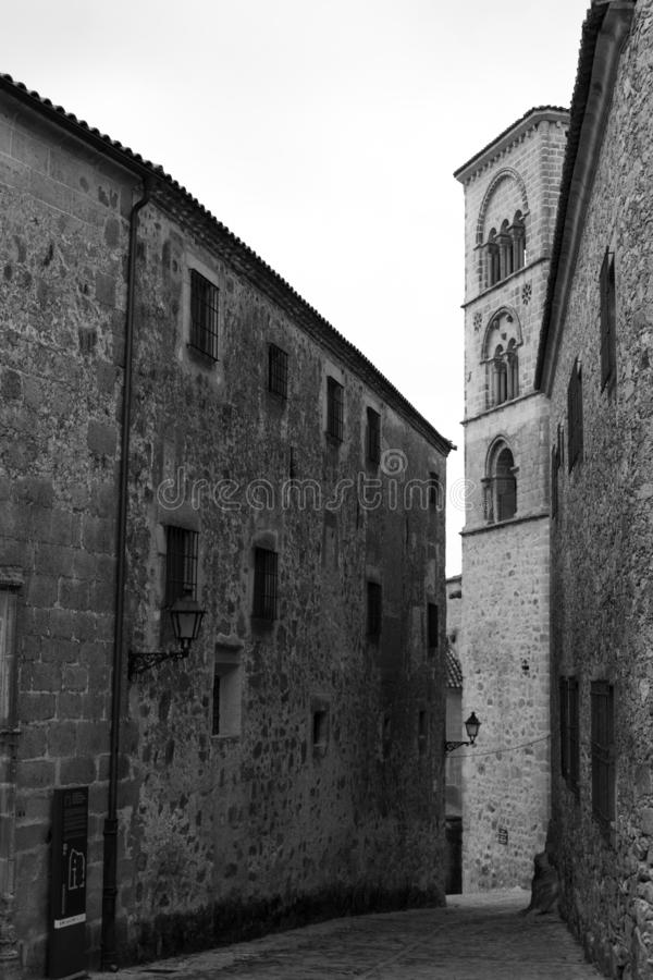 Iglesia de Santa Maria la Mayor (Trujillo, España fotografía de archivo libre de regalías