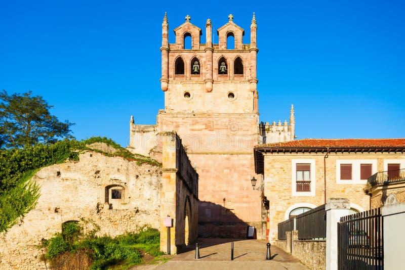 Iglesia de Santa Maria Los Angeles imagen de archivo libre de regalías