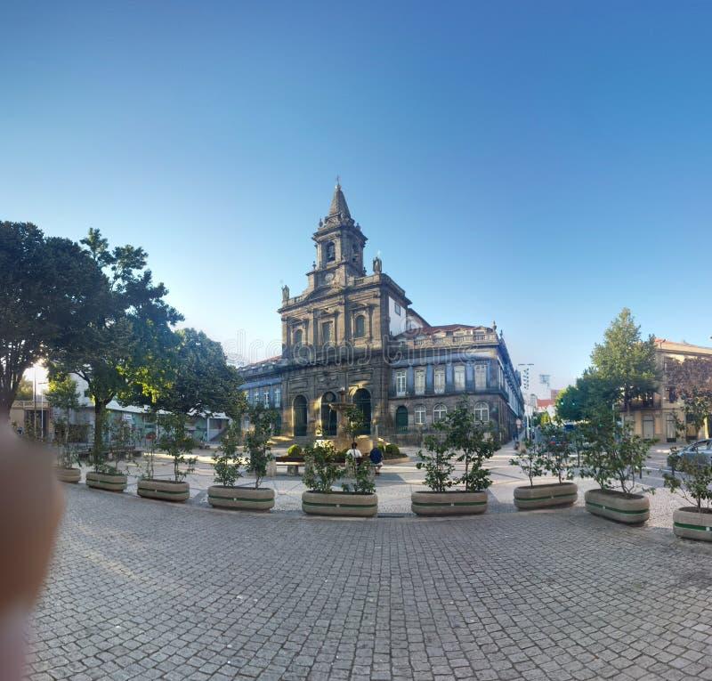 Iglesia de Santiago imagenes de archivo