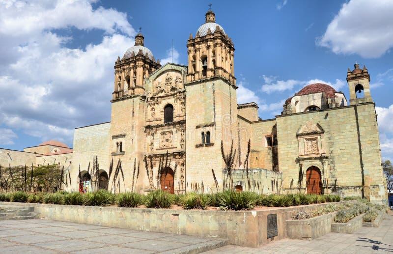 Iglesia de Santo Domingo, Oaxaca foto de archivo
