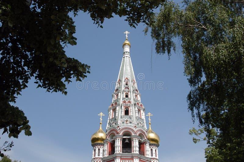 Iglesia de Shipka foto de archivo libre de regalías