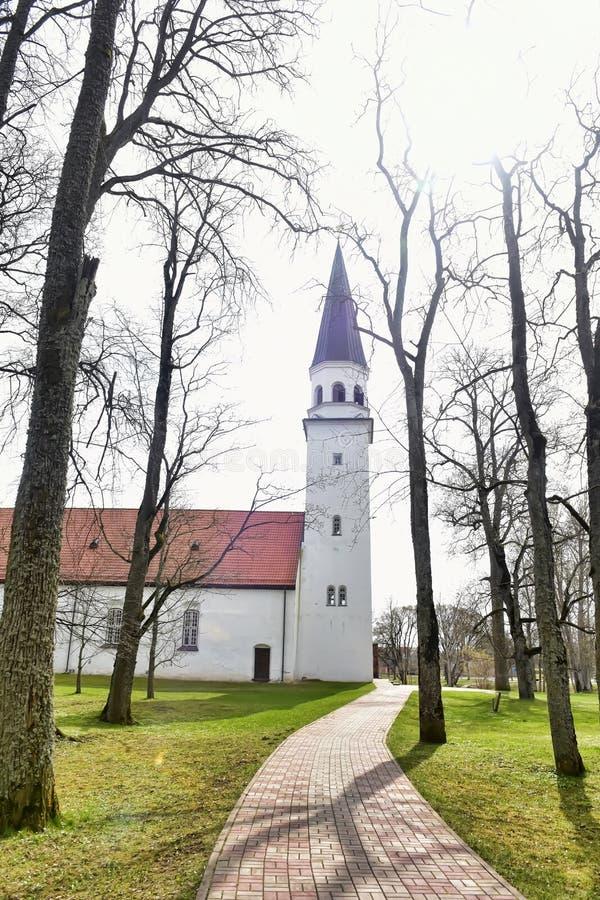 Iglesia de Sigulda imagenes de archivo