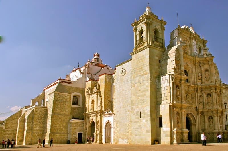 Iglesia de Soledad del La, Oaxaca, México imagen de archivo libre de regalías