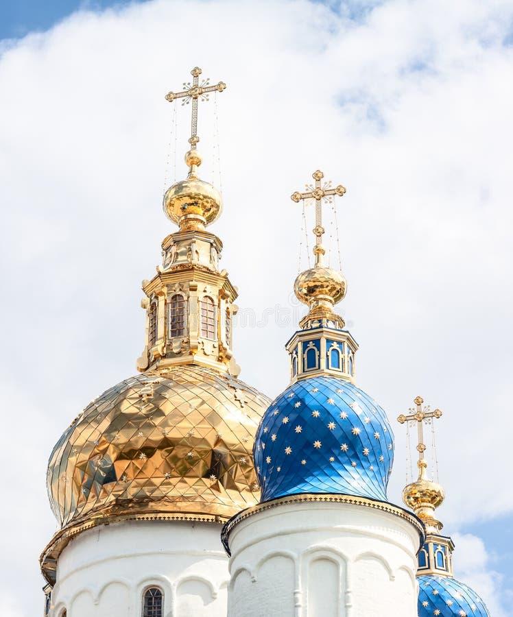 Iglesia de Sophia en Tobolsk el Kremlin. Siberia, Rusia foto de archivo