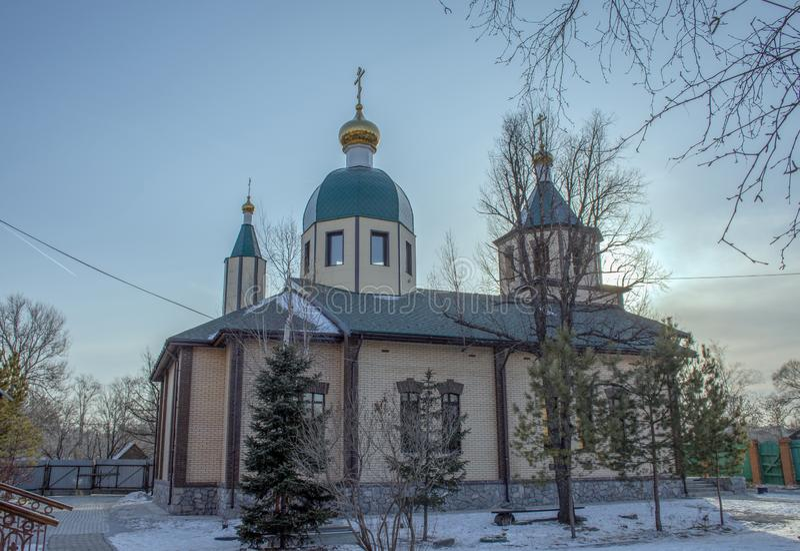 Iglesia de St Alexander Nevsky imágenes de archivo libres de regalías