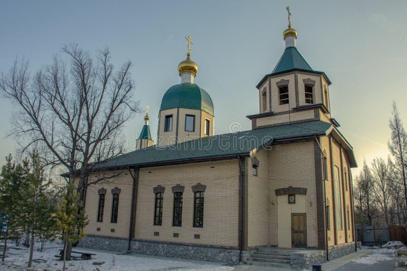 Iglesia de St Alexander Nevsky fotografía de archivo