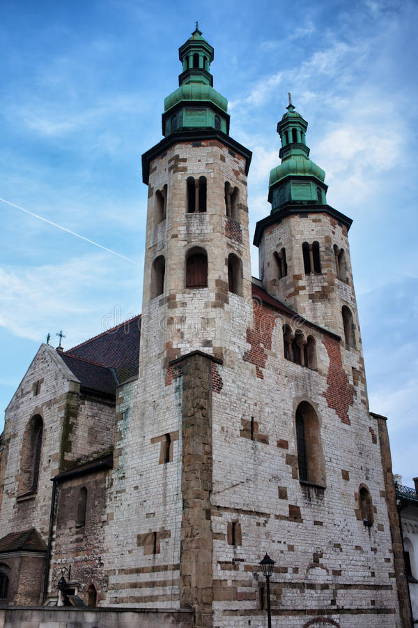 Iglesia de St Andrew en Kraków imagenes de archivo