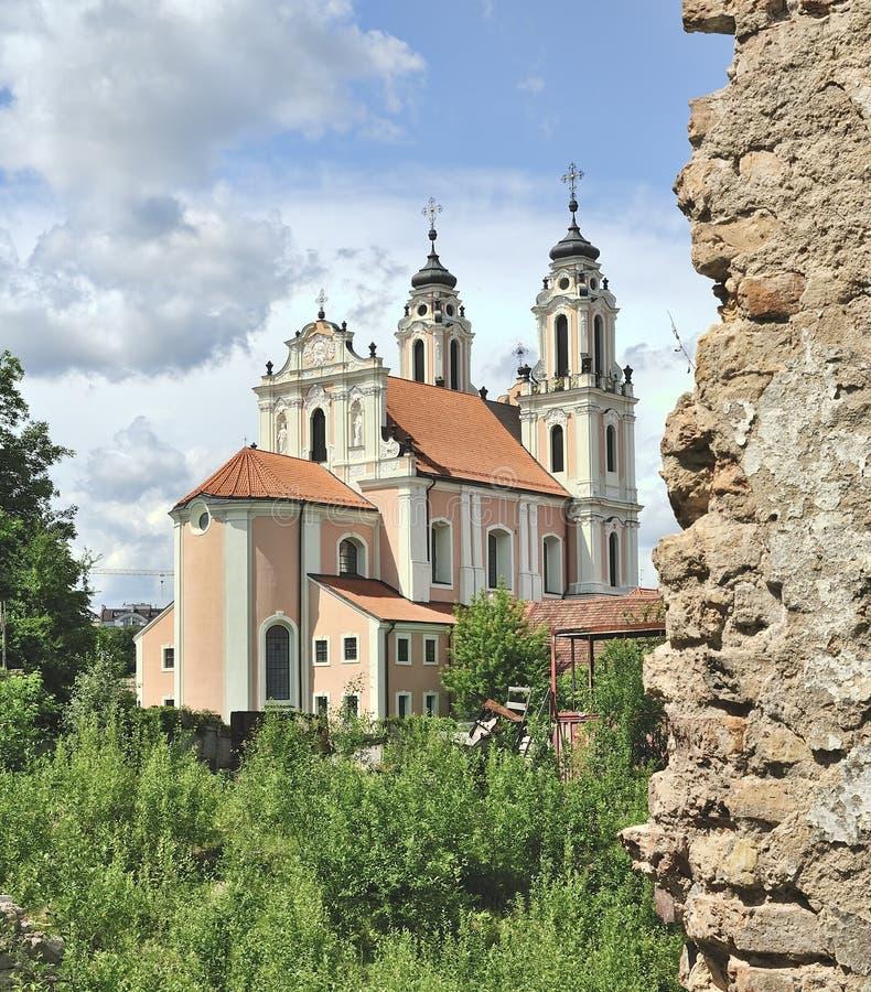 Iglesia de St. Catherine imagen de archivo libre de regalías