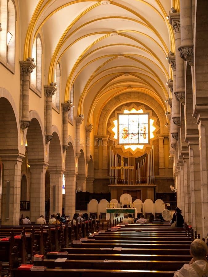 Iglesia de St Catherine, Belén fotografía de archivo libre de regalías