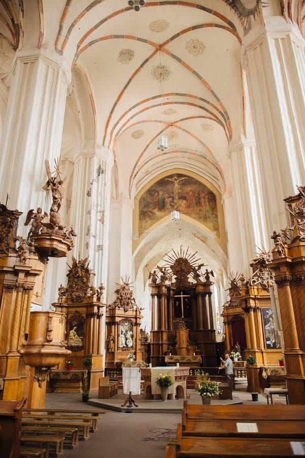 Iglesia de St Francis And St Bernard In vieja fotos de archivo