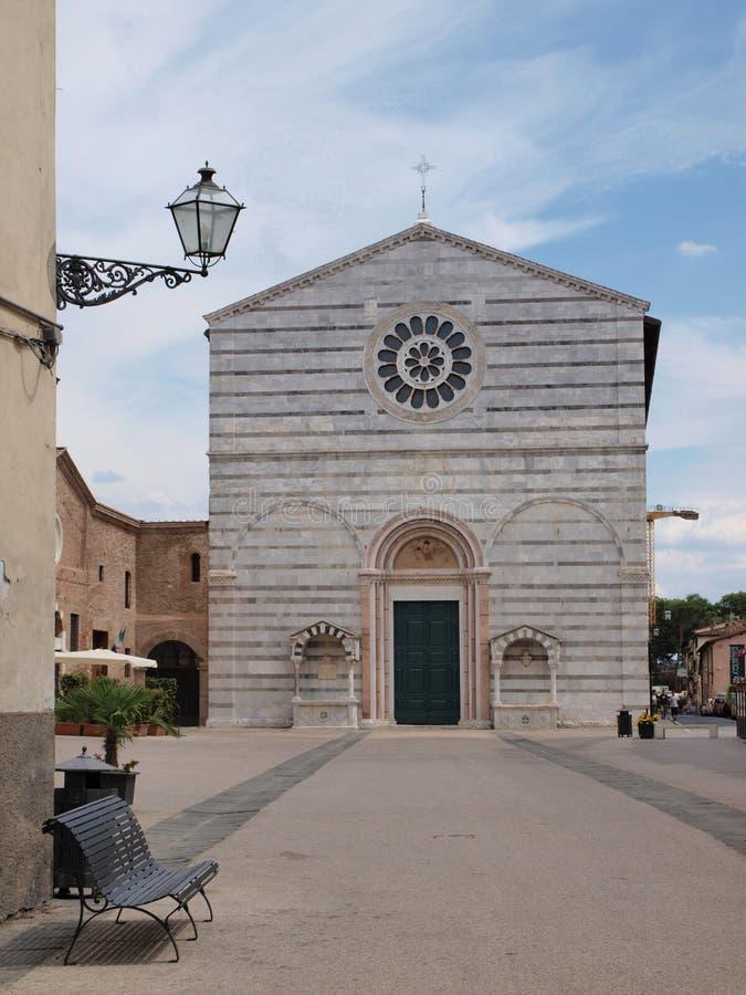 Iglesia de St Francis, Lucca, Italia imagen de archivo libre de regalías