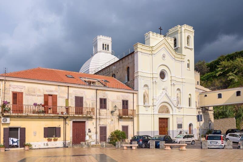 Iglesia de St Francis de Paola en Pizzo imágenes de archivo libres de regalías