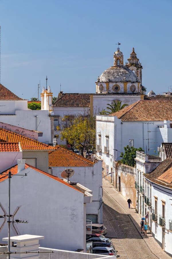 Iglesia de St Francis, Tavira, Portugal imagen de archivo libre de regalías