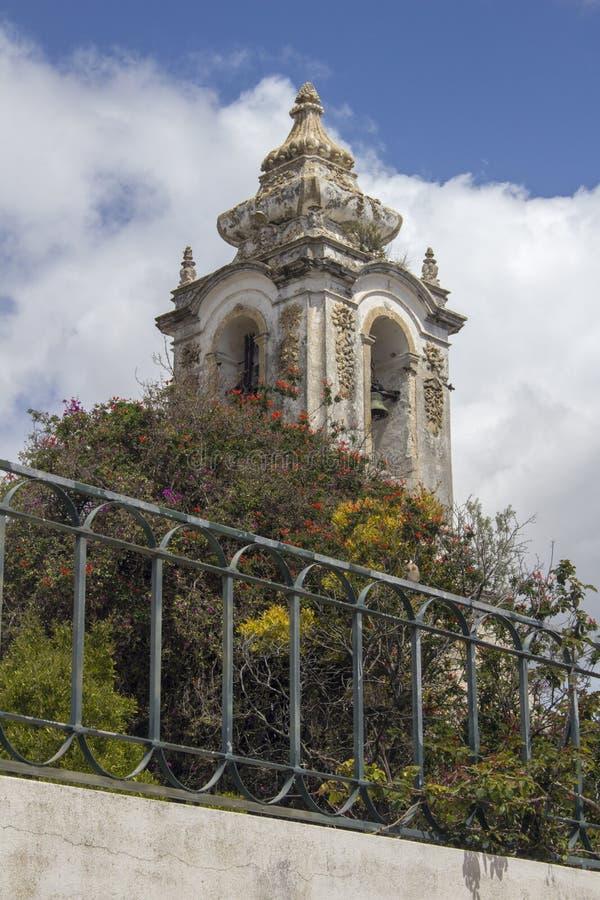 Iglesia de St Francis, Tavira, Portugal imagen de archivo