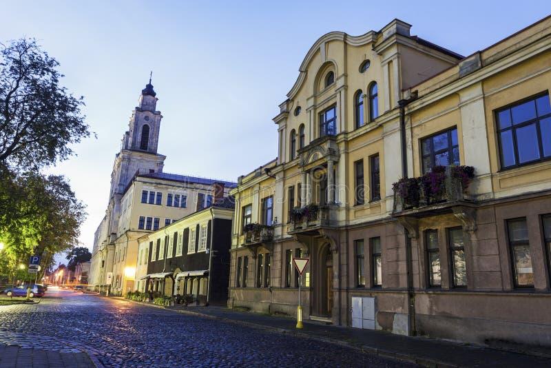 Iglesia de St Francis Xavier, Kaunas foto de archivo libre de regalías