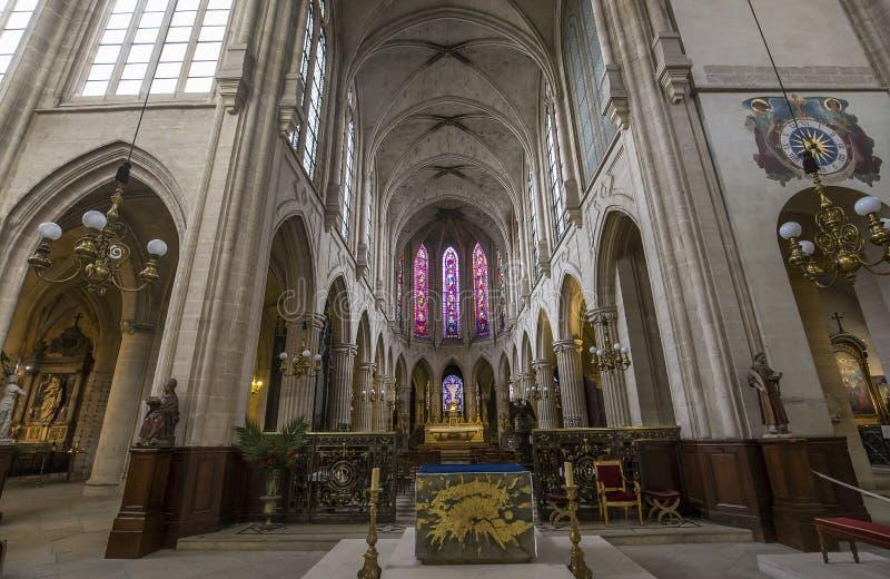 Iglesia de St Germain Auxerrois, París, Francia imágenes de archivo libres de regalías